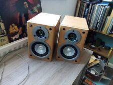 Sony SS-CM100 Bookshelf 2 Way Hi-Fi Speakers Beech 6 Ohm (d2)