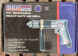 Heavy duty air drill