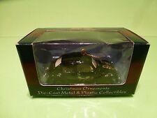 MAISTO 61501 VW VOLKSWAGEN BEETLE - CHRISTMAS ORNAMENTS - BLACK IN BOX
