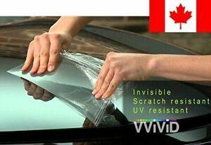 """VViViD Clear Bra Paint Protection Bulk Vinyl Wrap Film 12"""" x 60"""" Including 3M..."""