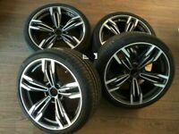 20 inch wheels for BMW F25 F26 F01 F07 F10 F06 433 style 245/40 + 275/35 new set