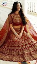 WEDDING PARTY WEAR DESIGNER LEHENGA INDIAN PAKISTANI BRIDAL LEHENGA CHOLI