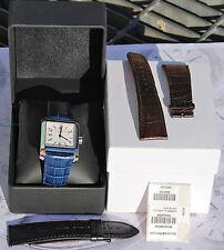 orologio Baume & Mercier Hampton Classic Square in acciaio ancora come nuovo