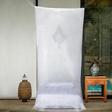 Mosquitera para cama individual y doble tamaño cuadrado Malla Cortinas Canopy Nuevo