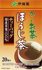 ITOEN Oi Ocha HOUJI Tea Bag 20 Pieces Matcha Blended Instant MADE IN JAPAN F/S