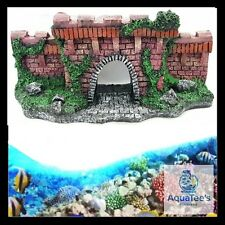 AQUARIUM FISH TANK BRIDGE DECORATION 25CM ORNAMENT AQUA MARINE FRESH WATE