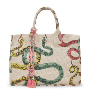 Vince Camuto ORLA TOTE Multicolor Snake Print Large BRAND NEW