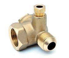 Rückschlagventil Ventil Kompressorventil Kompressor Druckluft 1/2IG - 1/2AG Typ4