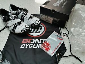 Bont Riot Road+ BOA cycling shoes, brand new, size 45