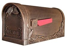 Special Lite Products Scf-1003-cp Floral Curbside Mailbox Copper
