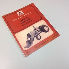 ALLIS CHALMERS MODEL 160 FARM LOADER FOR 160 TRACTOR OPERATORS OWNERS MANUAL