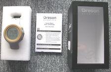 OREGON SCIENTIFIC RA900 SsMART WATCH IN DARK GREY AND GOLD