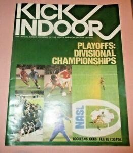 1980 NASL Indoor Divisional Championship Program - Memphis Rogues, Minn. Kicks