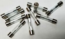 AGC-15 15 AMP GLASS TYPE FUSES 10Pcs