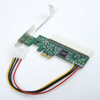 4pin PCIE To PCI Adapter Card Asmedia 1083 Chip Riser Extender Replacement Parts