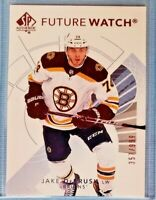 2017-18 SP Authentic FUTURE WATCH #155 Jake DeBrusk RC