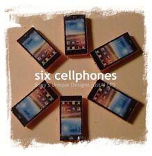 Littlest Pet Shop lot of 9 Accessories/Electronics 6 cellphones-3 free tablets