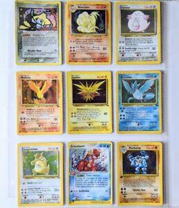 Pokemon Holo Lot - WOTC 1999 Vintage Binder - (18) Damaged/HP Cards