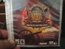 AGEOD's American Civil War: The Blue and the Gray(PC, 2008)BRND NW/FCTRY SYLD!!!