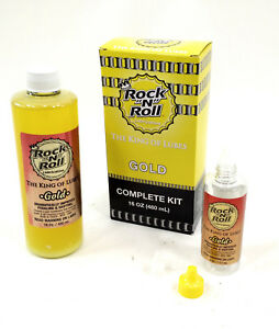 "Rock""N""Roll Gold Bicycle Chain Lube Complete Kit 16oz"