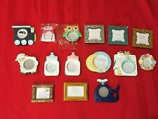Kate Aspen Picture Frames 14 Kinds Whales Trains Baby'S Sparkle Wine Corks Etc
