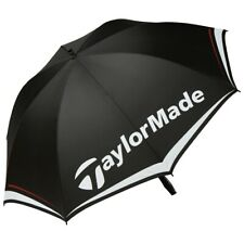 "Taylormade 60"" Single Canopy Umbrella - Black/White - Golf Umbrella"