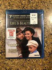 Life Is Beautiful (Blu-ray Disc, 2011) Brand New, Oop, Rare, Sealed