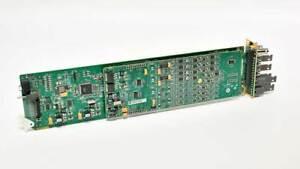 Ross Open Gear DMX-8259-4C 3G/HD/SD SDI Analog Audio De-Embedder