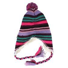 Ladies Multi-Coloured Striped Hat