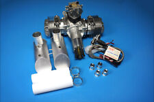 DLE-120cc Twin Gas Engine In Stock and Shipping for Free to USA!