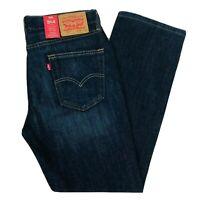 Levi's 514 Regular Fit Straight Blue Jeans Size W32 W34 W36 L30 L32 L36