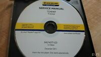 NEW HOLLAND TD4040F TRACTOR SERVICE MANUAL CD DN141