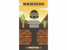 Bandido Fun Fast Coperative Family Card Game Helvetiq Wanted Board Multilangauge