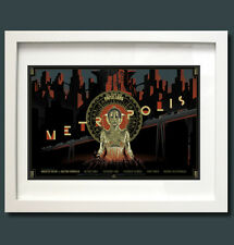 Metropolis Film Poster from Fritz Lang's Vintage 1927 Masterpiece - A3 Print