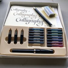 Calligraphy Starter Book W Ink And Refills & Pens Practice Book Included