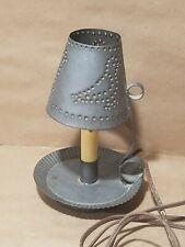 """Punched Tin Lamp Shade 8.5"""" Tall"""