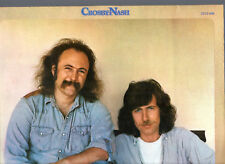 """CROSBY / NASH.WHISTLING DOWN THE WIRE.GERMAN ORIG """"S1/3 S2"""" LP & INSERT.EX"""