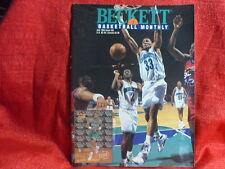 NBA Beckett Magazine Charlotte Hornets Alonzo Mourning July 1993