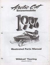 1996 Arctic Cat Snowmobile Wildcat Touring Parts Manual P/N 2255-391 (715)