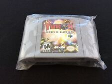 New authentic! *Turok Rage Wars N64 US NTSC gray cart grey rare READ STORY!