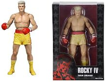"NECA ROCKY 40TH ANNIVERSARY SERIES 2 IVAN DRAGO 7"" ACTION FIGURE YELLOW SHORTS"