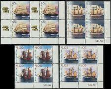 AUSTRALIA - 1999 'SAILING SHIPS' Set of 4 Corner Blocks MNH SG1846-49 [C3618]
