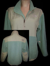 THE NORTH FACE Girls Sz XL Womens Medium Sweatshirt Fleece Jacket Medium Blue Gr