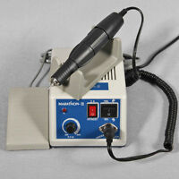 Dental Lab MARATHON Poilshing Handpiece 35K RPM Micromotor Jewellery 2.35mm Bur