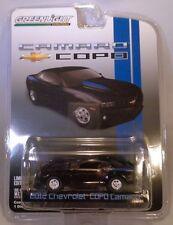 BLACK 2012 CHEVROLET COPO CAMARO GREENLIGHT 1:64 SCALE DIECAST METAL MODEL CAR