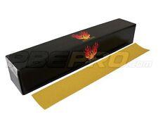 "High Teck 175080 Gold File Box 80 Grit 2.75"" x 17.5"" (50 Ea)"