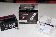 Batterie MOTO en 12V / 6 Ah Marque : YUASA Super MF / Reference : YTX7A-BS