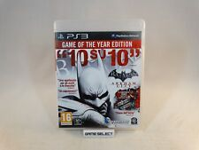 BATMAN ARKHAM CITY GAME OF THE YEAR EDITION GOTY PS3 PAL EUR ITALIANO COMPLETO