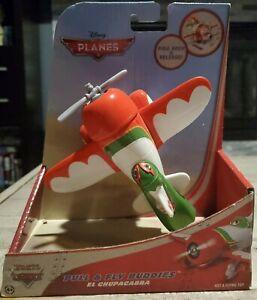 NEW 2012 Disney Planes EL CHUPACABRA Pull & Fly Buddies Pull Back & Release