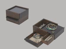 Mini Stowit Gioielli Scatola Nero Walnut Di Umbra 1005314-048 per Accessori